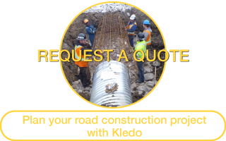 Request a Quote | Plan your road construction project with Kledo
